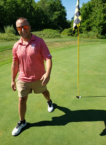 Tony Breeyear hole in one at Hartford Greens Country Club on August 1