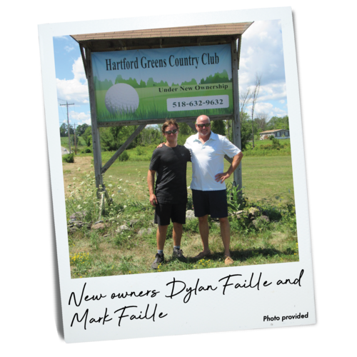 Dylan Faille and Mark Faille, Hartford Greens Country Club owners
