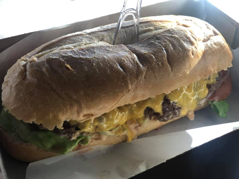 The Clever Cleaver Burger Sub