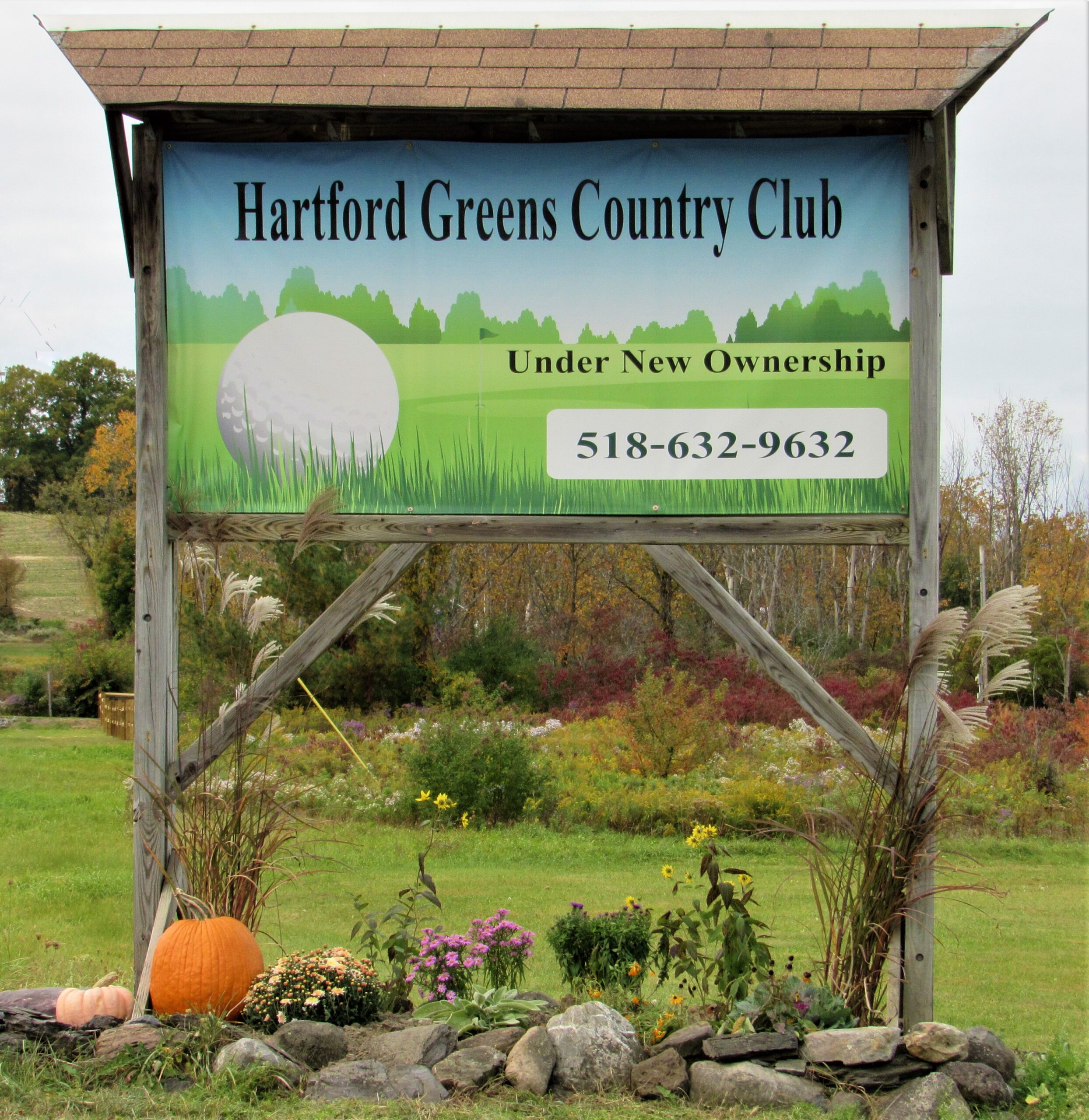 Autumn at Hartford Greens Country Club