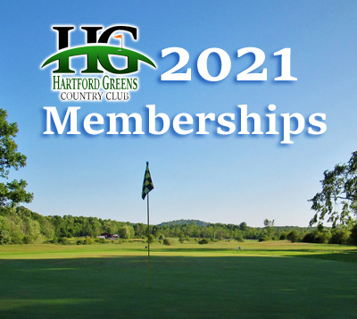 2021 Hartford Greens Country Club Memberships