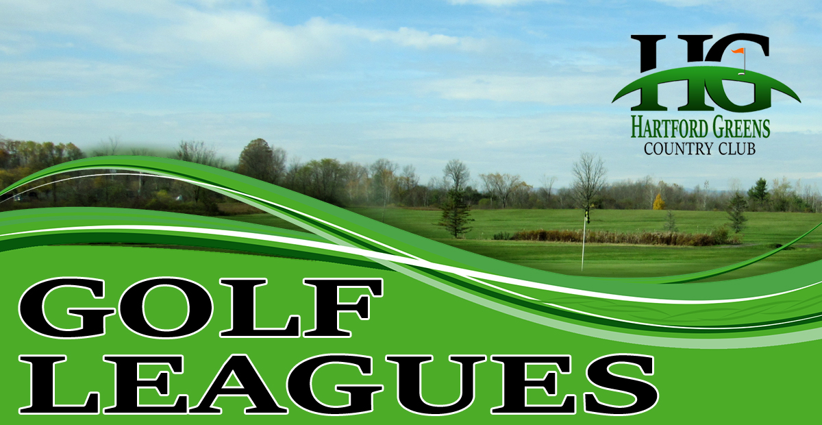 Join our golf leagues at Hartford Greens Country Club