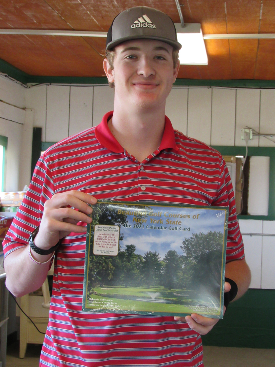 2021 Golf Calendar Card
