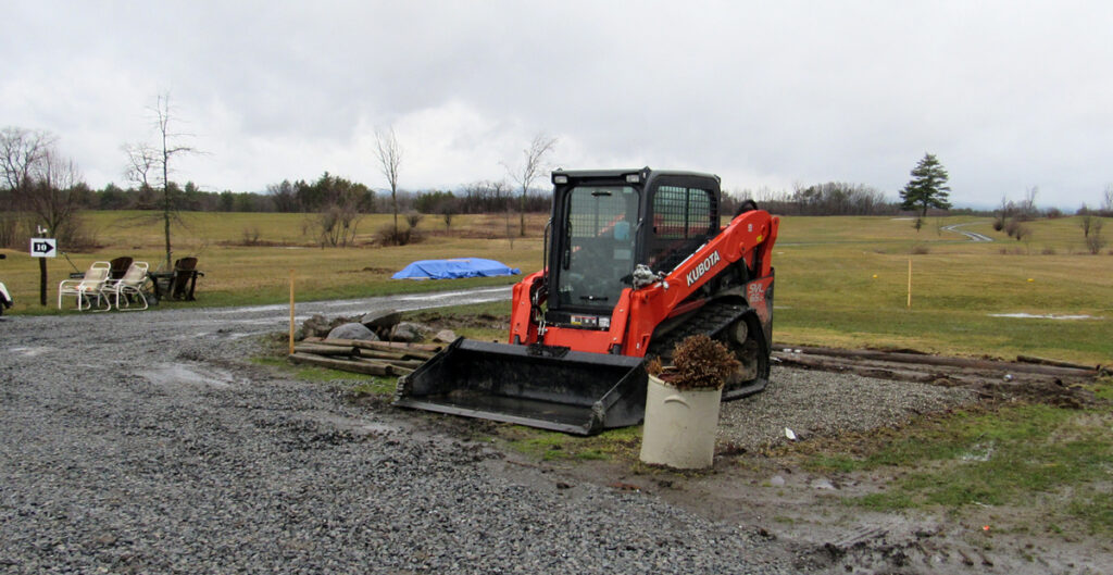 Course Under Construction- Shed has been moved.