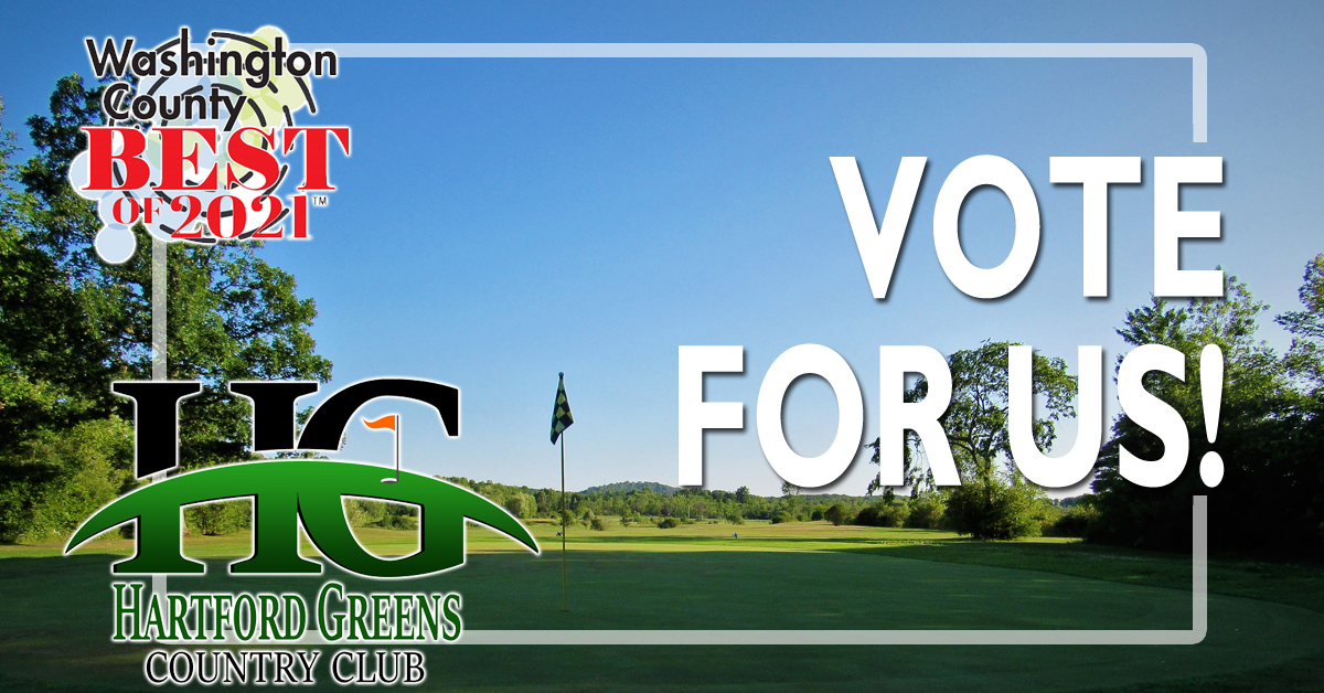 Vote for Us as The Best Golf Course in Washington County