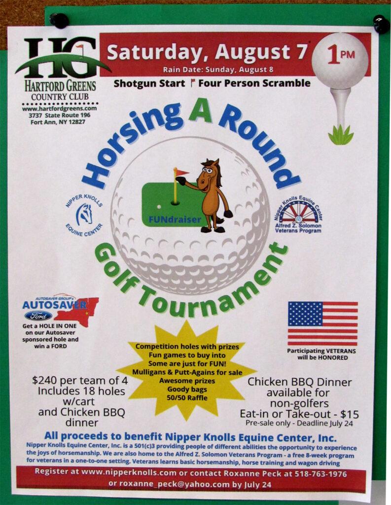 Nipper Knolls Golf Tournament