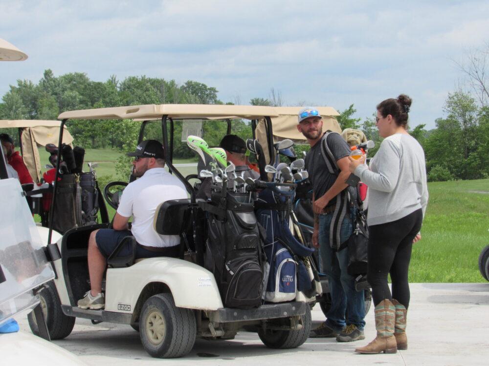 Nick Geraghty fundraiser golf tournament