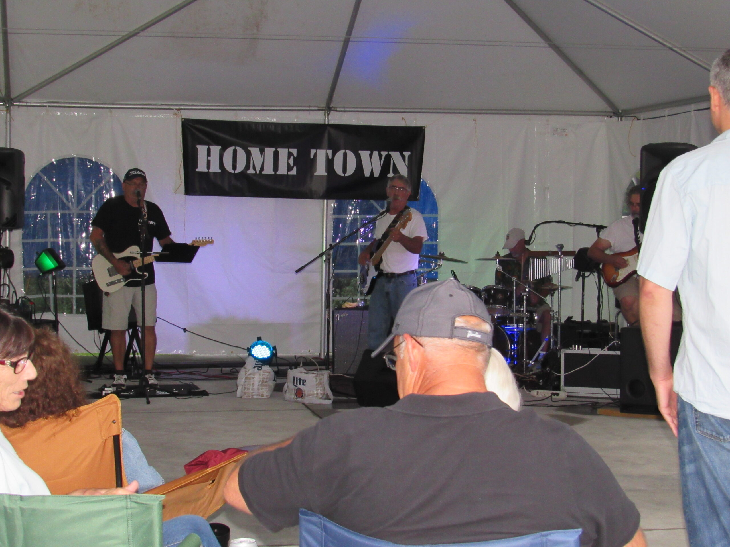 Hometown playing at 1st Year Anniversary Event