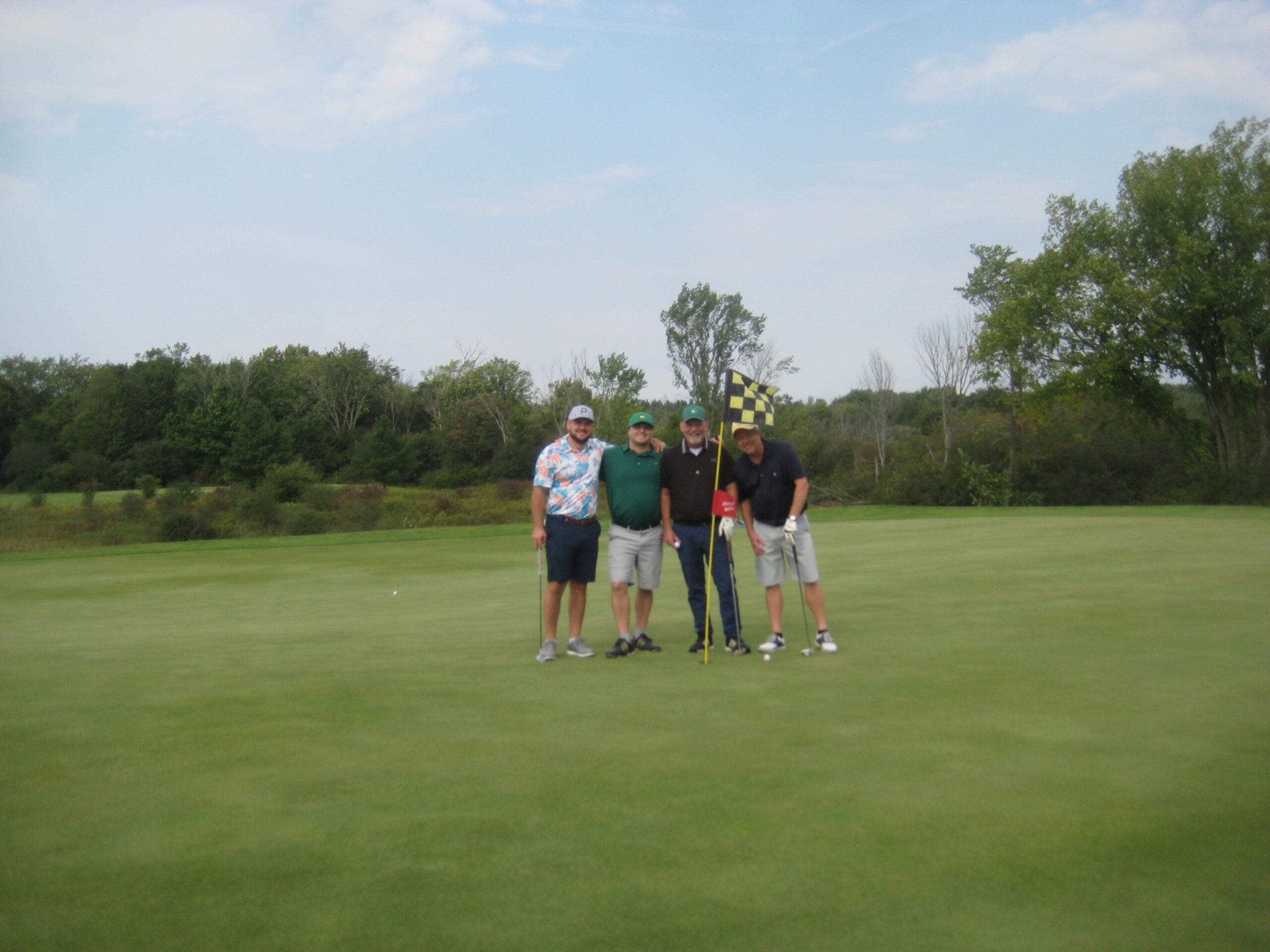 HFVC Golf Tournament team